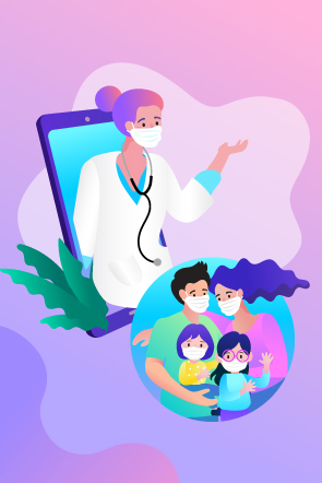 Family Doctor Appointment, Online Doctor Appointment to Family, Secure your Family with Online Doctor Appointment, Telemedicine services